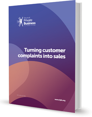 Turning Customer Complaints into Sales Guide