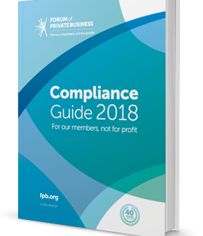 Forum of Private Business Compliance Guide (members only)