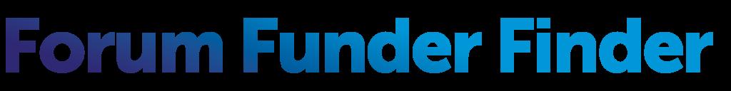 Forum Funder Finder