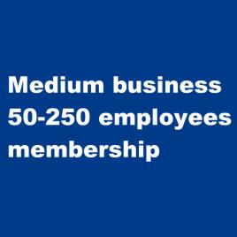 Medium business 50 – 250 employee membership