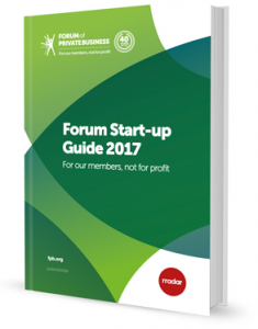 Forum Start up Guide 2017