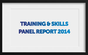 Training and Skills panel 2014